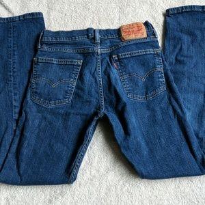 Levi 513 Slim Straight Jeans